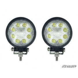 "ENS. DE LUMIÈRES DEL 4.5"" LED Round Lights : Off Road Lights"